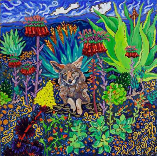 """""""Love the Good Earth"""", 30"""", by Cathy Carey"""